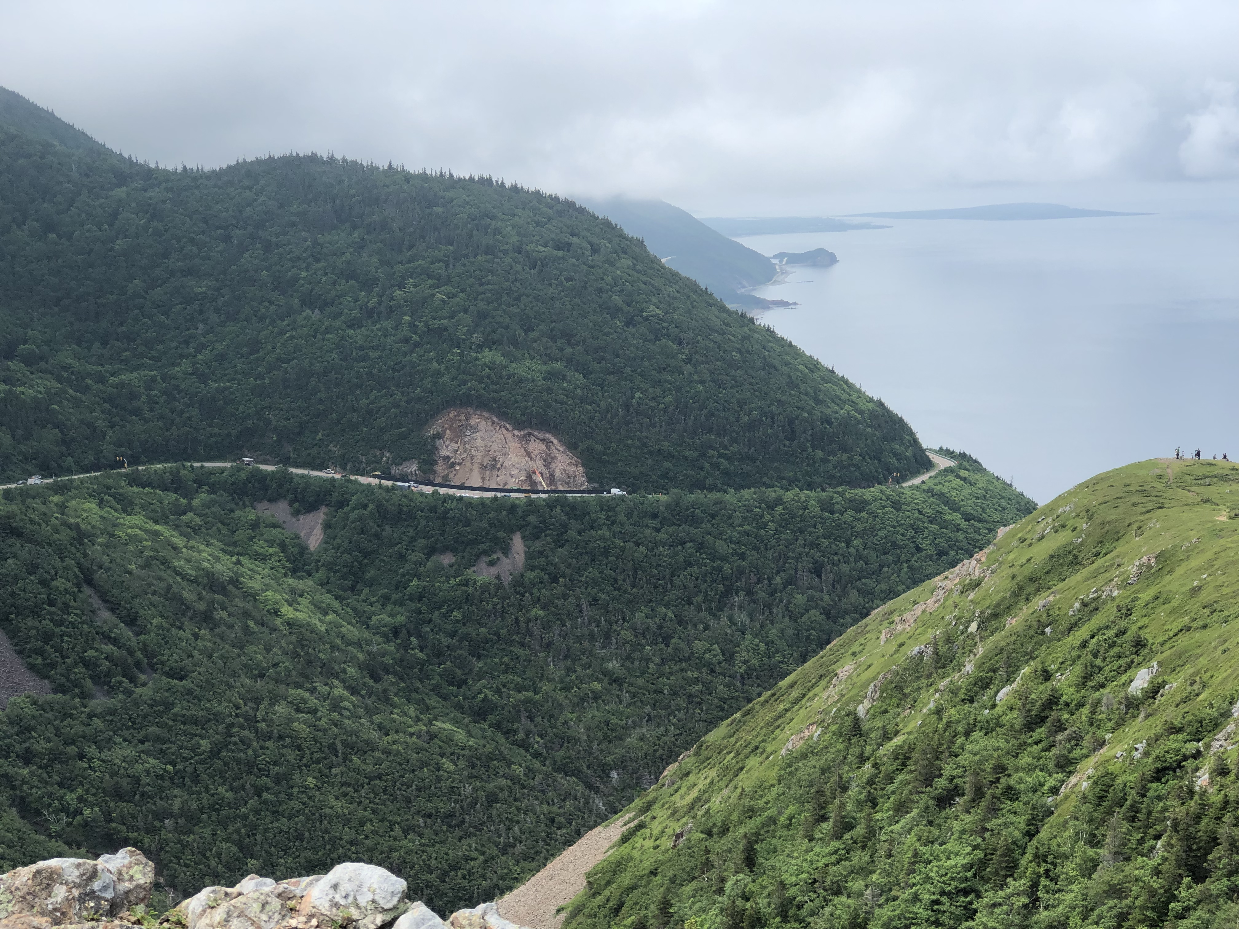 View from Skyline Trail, Cabot Trail, Cape Breton